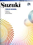 Suzuki Violin School Violin Part with CD Volume 2