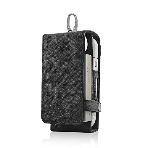 MONOJOY PU Leather Case Pouch Bag for iQOS, Carry Storage Protective IQOS Tobacco Cover