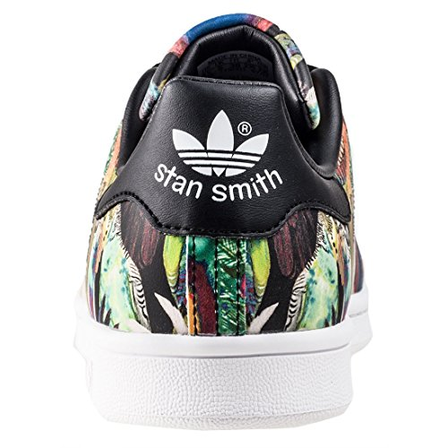 Deporte Smith Mujer Core Ftwr para Zapatillas White Adidas Negro Black W Core de Stan Black XSqw5p