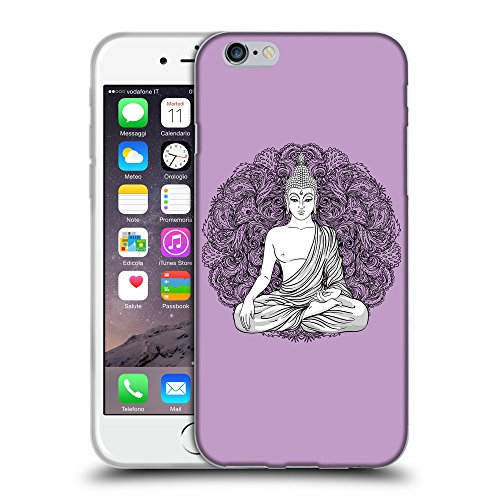 GoGoMobile Coque de Protection TPU Silicone Case pour // Q07710617 Bouddha 7 Bright Ube // Apple iPhone 6 PLUS 5.5""