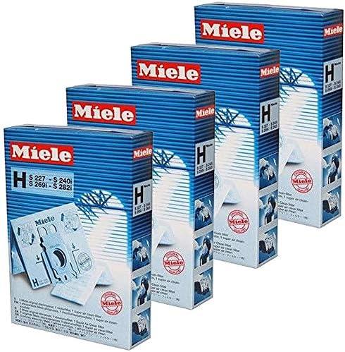 Miele mtxtec S223-2 S224-2 S224 H HyClean tipo de bolsas y filtro para aspiradora (20 unidades) Kit: Amazon.es: Hogar