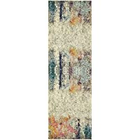 Unique Loom Spectrum Collection Beige 2 x 7 Runner Area Rug (2 2 x 6 7)