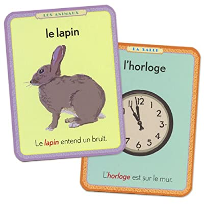 eeBoo French Flash Cards: Toys & Games