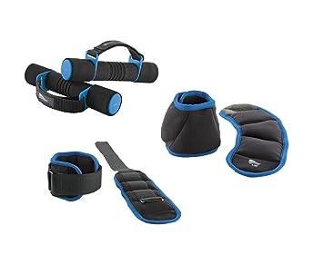 Crivit Fitness Peso Set Peso Manguitos para Brazos y piernas y Mano Pesas de 6 Color: Azul: Amazon.es: Deportes y aire libre