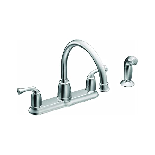 Moen CA87553 High Arc Kitchen Faucet With Side Spray From The Banbury  Collection, Chrome     Amazon.com