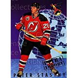Peter Stastny Hockey Card 1992-93 Ultra Import #24 Peter Stastny