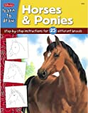 Draw and Color - Horses and Ponies, Walter Foster, 1420689037