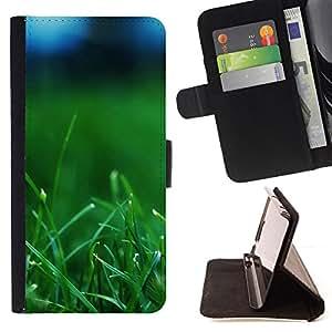 - Plant Nature Forrest Flower 37 - - Prima caja de la PU billetera de cuero con ranuras para tarjetas, efectivo desmontable correa para l Funny HouseFOR HTC One M7