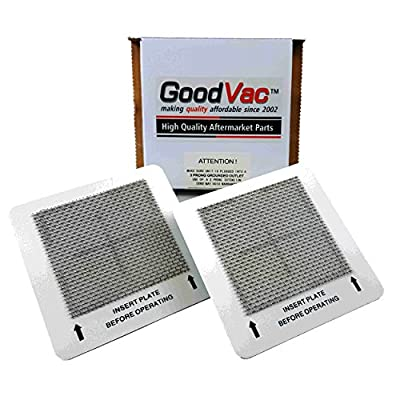 GOODVAC 2 Pack Ozone Plates 4.5 x 4.5 fits numerous Machines (See Description)