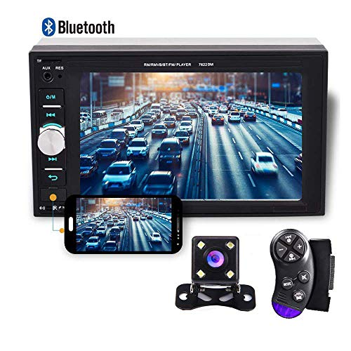 Camecho 2 din Car Multimedia Player 1080P Full HD 6.2