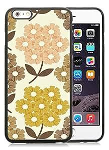 Orla Kiely (2) Black Fantastic Design iPhone 6plus 5.5 Inch Silicone TPU Cover Case
