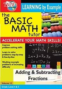 Basic Math Tutor: Adding & Subtracting Fractions