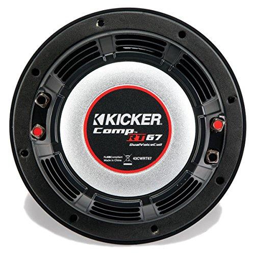 Kicker CompRT 6.75'' 1-Ohm Subwoofer by Kicker