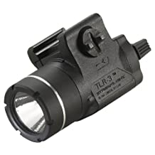 Streamlight 69220 TLR-3 Weapon Mounted Tactical Light with Rail Locating Keys