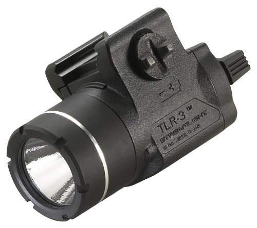 Streamlight 69220 TLR-3 Weapon Mounted Tactical Light with Rail Locating Keys (Rail Tri Scope Tactical)