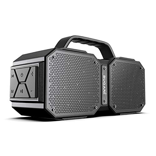 Bluetooth Speakers, Portable Bluetooth Speakers 5.0, 40W Super Power, Rich Woofer, Stereo Loud. Suitable for Family Gatherings and Outdoor Travel. (Black)