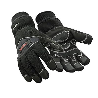 RefrigiWear Waterproof Insulated High Dexterity Gloves, Black