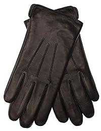 EEM leather gloves for men Ben manufactured from genuine leather, black L