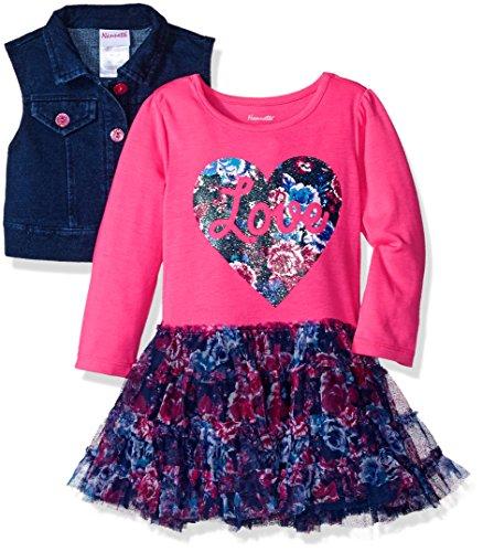 Pink Denim Dress - 3