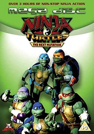 Ninja Turtles Mega Disc [Reino Unido] [DVD]: Amazon.es ...