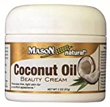 Mason Naturals Coconut Oil Beauty Cream-2 Oz Cream Pack of 3 by Mason Review