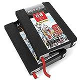 """ARTEZA 3.5x5.5"""" Mini Sketch Book, Pack of 2"""