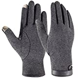 Winter Touchscreen Gloves, Cold Weather Outdoor Gloves for Cycling Motorcycle