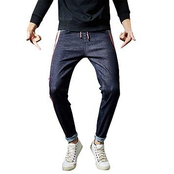 Pantalones Hombre Vaquero,Modaworld Pantalones De Mezclilla ...