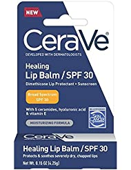 CeraVe Healing Lip Repair Balm with SPF 30, 0.15 Ounce