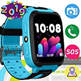 Kids Phone Smart Watch SOS GPS Tracker Wrist with 3-12 Year Old Smart Watch Phone for Girls Boys...