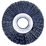 Weiler 20510 Nylon Wheel, 5000 RPM, 8'' Diameter, 2'' Arbor