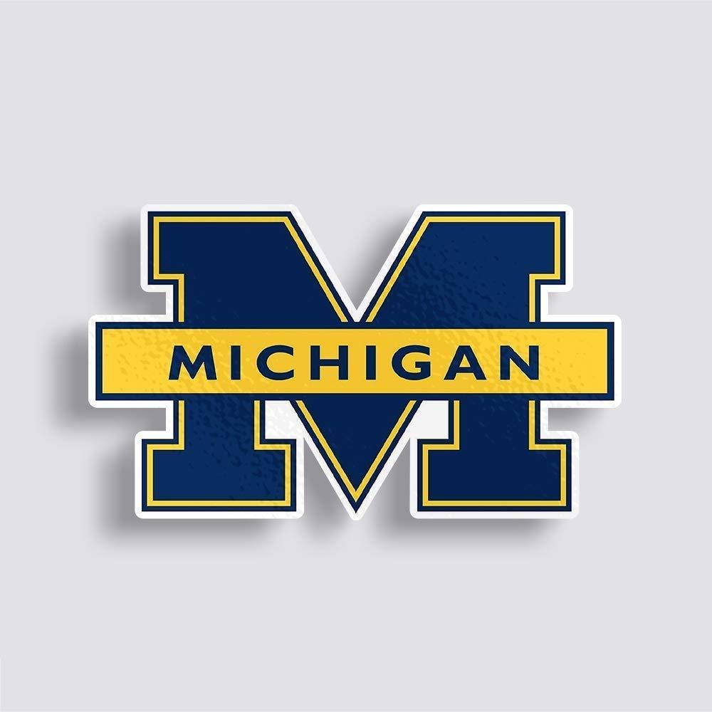 "6"" University Of Michigan decal"
