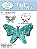 Elizabeth Craft Designs Metal Die Butterfly Overlay 1