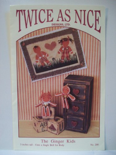 The Ginger Kids - Wallhanging and Ginger Bread Dolls Pattern ()