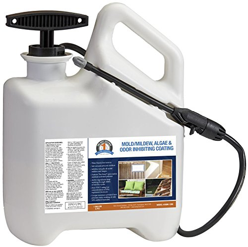 One Shot BGMI-1F96 Mold, Mildew, Algae, and Fungus Prevention with Pump Sprayer, 96 oz (3 (Shot Mold)