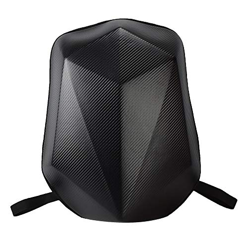 (Motorcycle Backpack Moto Riding Backpack Off-road Motorbike Bag Motorcycle Riding Backpack Large Capacity Expansion Pack (Carbon Fiber))