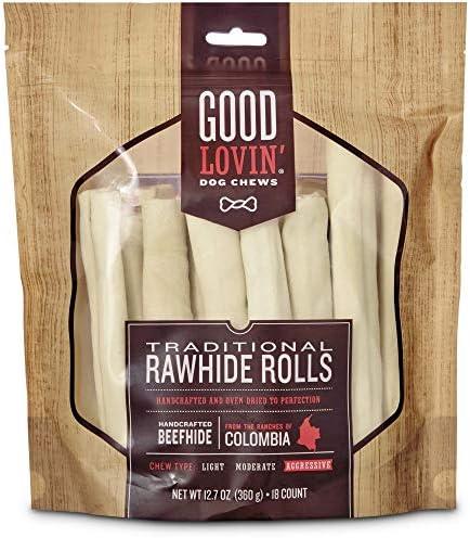 Good Lovin Traditional Rawhide Roll Dog Chew