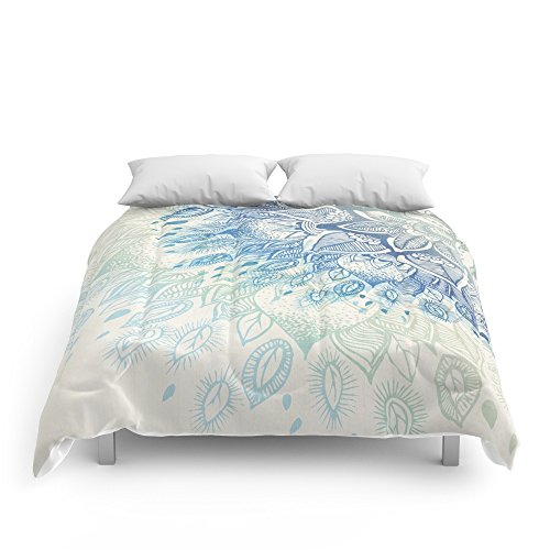 Society6 Dahlia Comforters Queen: 88'' x 88'' by Society6