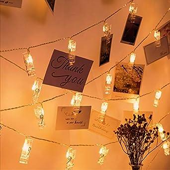 10 DEL Argenté papier étoiles Guirlande Lumineuse Éclairage de Noël Fonctionnement sur batterie