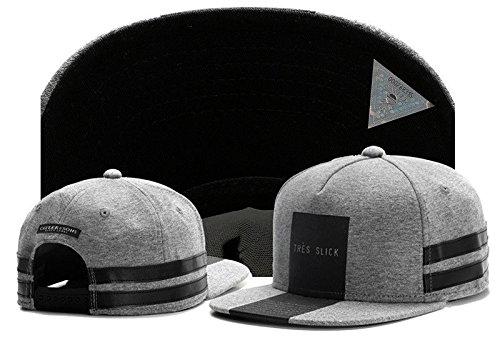 (New Men Cayler Sons Cap Baseball Snapback Hip Hop Adjustable Bboy Gray Hat)