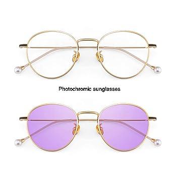 Z&HA Gafas De Sol Fotocromáticas para Mujeres con Montura De ...