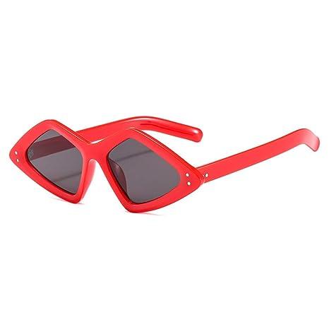 Yangjing-hl Gafas de Sol de Moda triángulo Personalidad ...