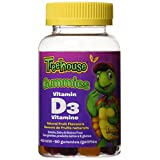 Treehouse Vitamin D3 Gummies, 400 Iu, 60-Count
