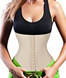 Please choose it from our Size Chart located on the left of the product image.If you actual size is between two size,we suggest you choose the big size.All of these corset are Full Spiral Steel boned.Similar with traditional waist control. Spiral ste...