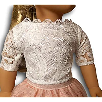 American Girl Tenney's Spotlight Outfit for 18-inch Dolls: Toys & Games