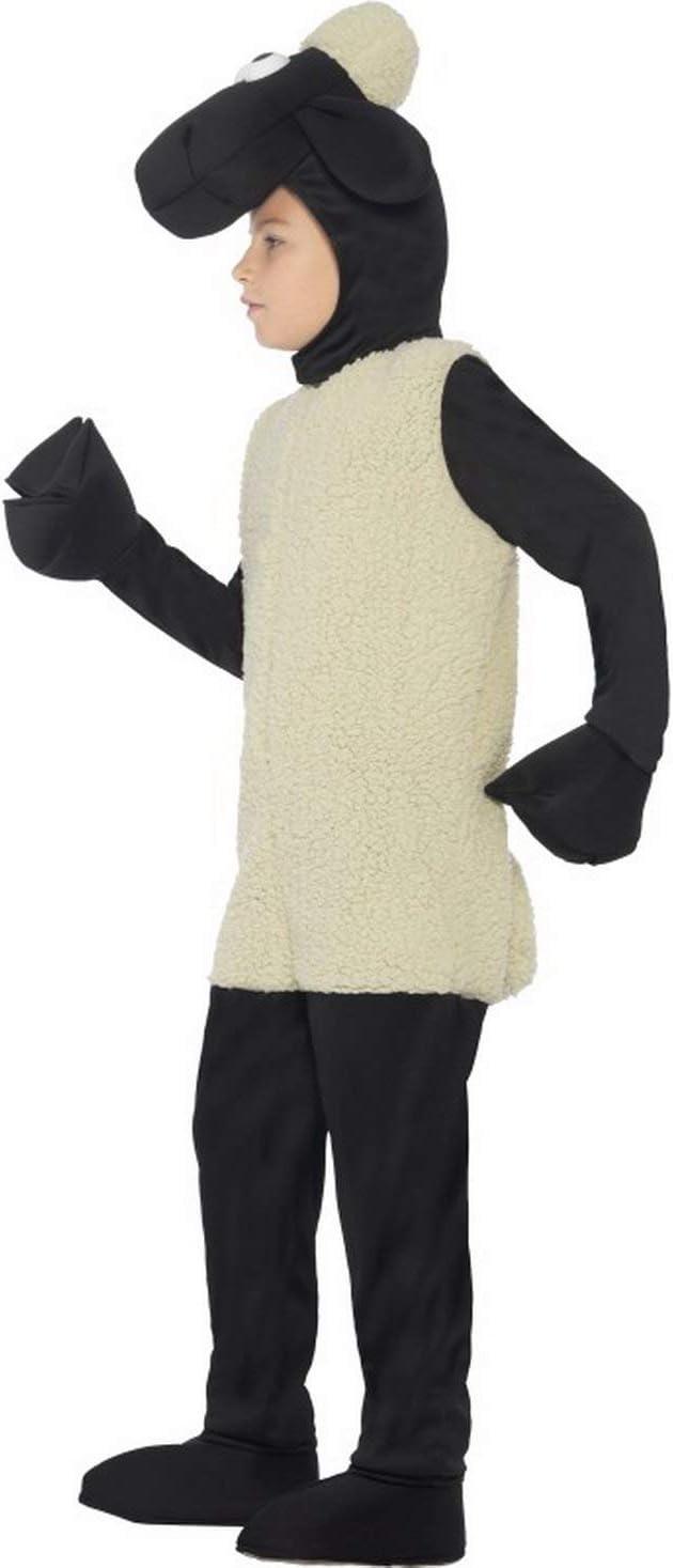 Halloweenia – Joven Chica Disfraz Infantil de Peluche Oveja Shaun ...