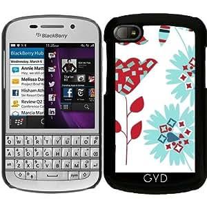 Funda para Blackberry BB Q10 - Patrón Floral by Luizavictorya72