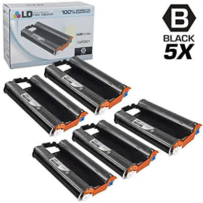 LD Compatible Replacements for Brother PC301 Set of 5 Fax Cartridges With Roll for use in Brother FAX 885MC, Intellifax 750, 770, 775, 870MC, 885MC, and MFC-970MC Printers