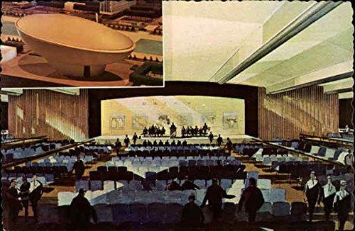Meeting Center Albany, New York Original Vintage Postcard