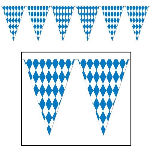 Beistle Oktoberfest Bavarian Pennant Banner